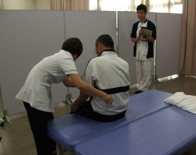 理学療法専攻で客観的臨床能力試験(OSCE)を実施しました